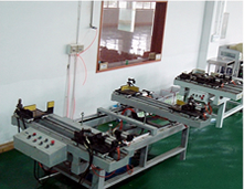 Solar Modules frame up machine